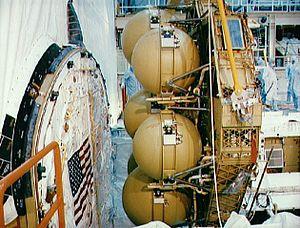 Extended Duration Orbiter - Image: EDO pallet
