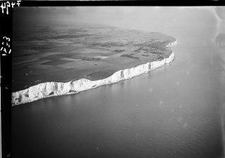 ETH-BIB-Küste, England, Kreidefelsen, Dover-Inlandflüge-LBS MH01-007494