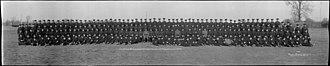 Blue Army (Poland) - 'E' Co 1st Depot Battalion Polish Contingent Niagara Camp Ontario Canada Nov 16th, 1917