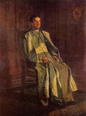 Diomede Falconio - Portrait of Archbishop Falconio by Thomas Eakins