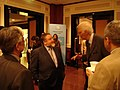 Eben Moglen talks with policy makers in India, 2006 at New Delhi 23.jpg