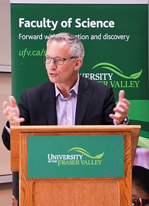 Ed Fast - Image: Ed Fast visits University of the Fraser Valley