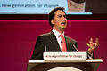 Ed Miliband conference speech in Manchester, September 2010.jpeg