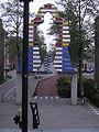 Ede - Kunstwerk van Snoeck en Trapman bij entree Stadspoort (oost).jpg
