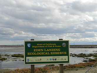 Eden Landing Ecological Reserve - Image: Eden Landing Ecological Reserve San Francisco Bay Area