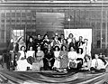 "Edgewater Congregational Church theatrical group in costume for the play ""The District School,"" Fremont, 1910 (SEATTLE 1034).jpg"