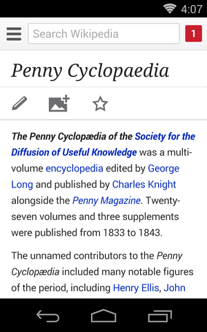 Editing Wikipedia mobile screenshot p 16, Penny Cyclopaedia.png