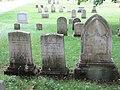 Edward, Melinda, and George Holyoke headstones.jpg