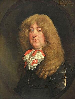 Edward Herbert, 3rd Baron Herbert of Chirbury - Edward Herbert, 3rd Baron Herbert of Chirbury, portrait by Gerard Soest.