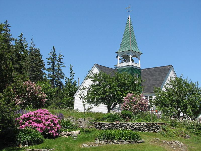 Eglise Cranberry Island