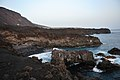 El Aljibe beach area in the evening, La Palma, Canary Islands 2015 - panoramio.jpg