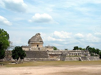 Maya astronomy - The Caracol at Chichen Itza is an observatory
