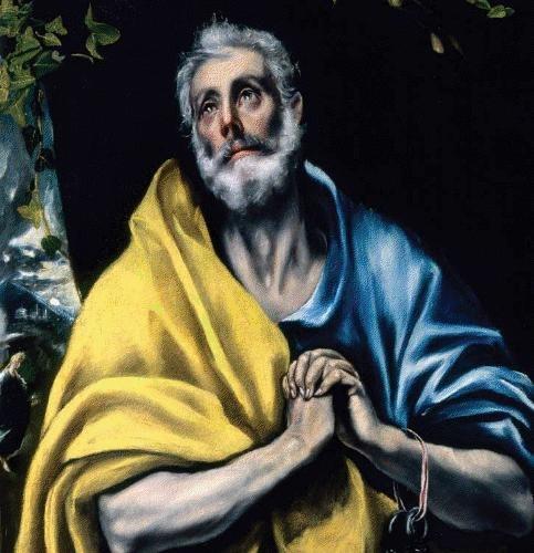 El Greco - Las l%C3%A1grimas de San Pedro