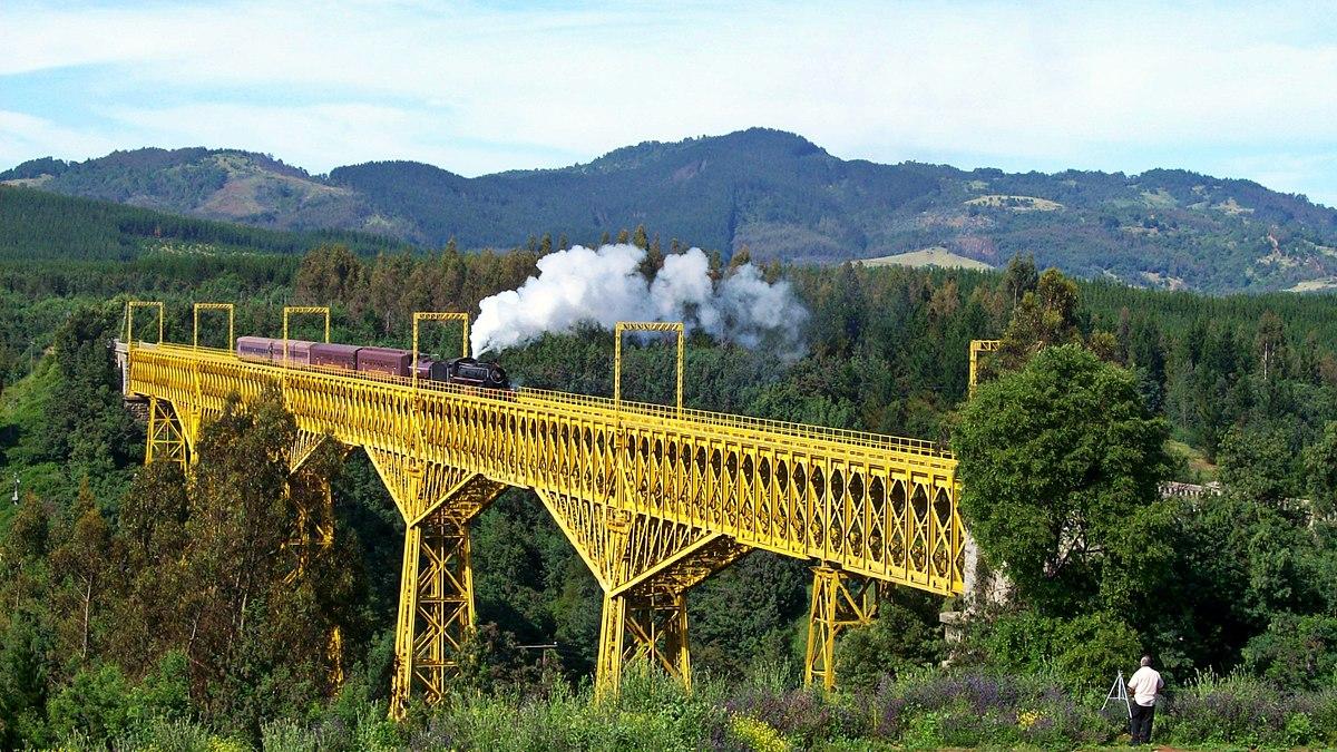 Historia del ferrocarril en Chile - Wikipedia, la enciclopedia libre