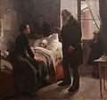 El niño enfermo. Paris 1886..jpg
