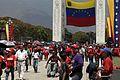 El pueblo venezolano acompañó los restos de su presidente Hugo Chávez Frías en la Academia Militar (8539060122).jpg