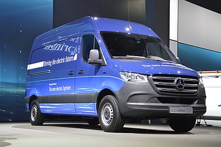 82758be883e858 Mercedes-Benz electric Sprinter Vormodell 2018