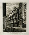 Elias Ashmole's house. Engraving after R. B. Schnebbelie, 18 Wellcome V0000226.jpg