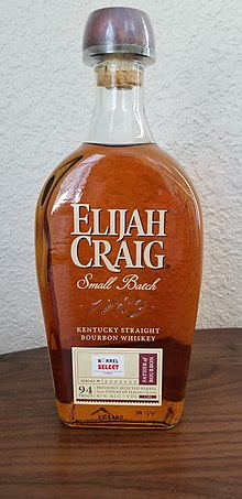 cb916cedc65 Elijah Craig Small Batch (94 proof). This particular bottling is a private  selection for the liquor store chain Total Wine and More.