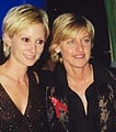 Ellen DeGeneres and Anne Heche at the 1997 Emmy Awards.jpg