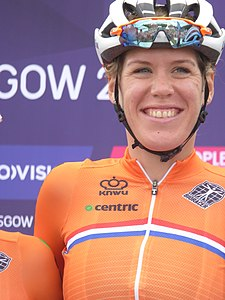 Ellen van Dijk - 2018 UEC European Road Cycling Championships (Women's road race).jpg