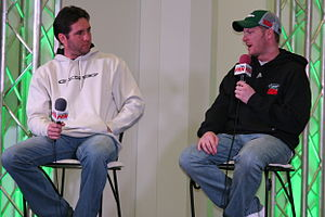 Performance Racing Network - Eliott Sadler and Dale Earnhardt, Jr. in an interview on Performance Racing Network