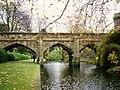 Eltham Palace - North Moat Bridge - geograph.org.uk - 217292.jpg