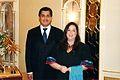 Embajador Juan José Gómez Camacho y señora - Ambassador Gómez Camacho and his wife.JPG