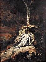 Emile Bernard 1926 Le Christ en croix, ou La Vierge au pied de la Croix.jpg