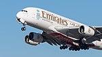 Emirates Airbus A380-861 A6-EER MUC 2015 03.jpg