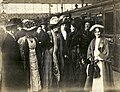 Emmeline Pankhurst, Emmeline Pethick Lawrence and others, c.1911. (22926390812).jpg