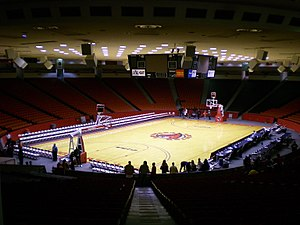 Hofheinz Pavilion - The interior of Hofheinz Pavilion