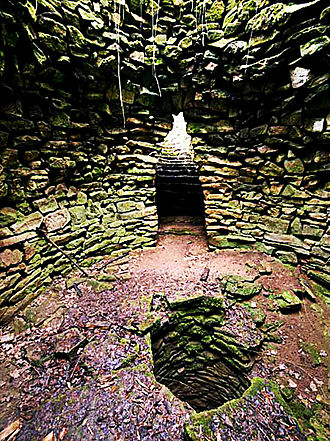 Sacred pit of Garlo - The interior of the Sacred Nuragi Pit, Garlo Village, Bulgaria