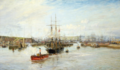 Entrance to Barry Dock, South Wales, 1897, William Lionel Wyllie.png