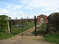 Entrance to War Graves Plot - geograph.org.uk - 752853.jpg