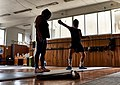 Epee fencing coaching at Athenaikos Fencing Club.jpg
