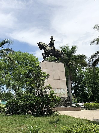 Henri Christophe - Equestrian statue of Henri Christophe in the Haitian capital Port-au-Prince