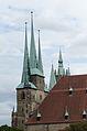 Erfurt, Severikirche vom Petersberg gesehen-001.jpg