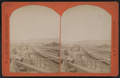 Erie Railroad yard. View of switch yard, by W. L. Sutton.png