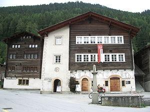 Ernen - Capuchin house in Ernen