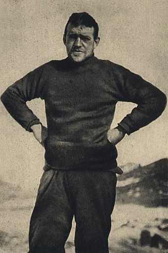 "Sir Ernest Shackleton: ""What Nansen is to the North, Shackleton is to the South""--Roald Amundsen Ernest Shackleton.jpg"