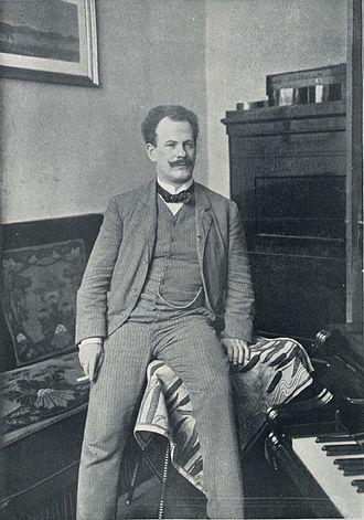 Ernst Kunwald - Image: Ernst Kunwald (Berl Leben 1906 08 R Siegert)