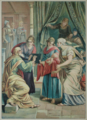 Es ist ein Ros entsprungen - Die Geburt Johannes des Täufers - The birth of John the Baptist.png