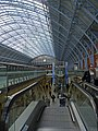 Escalator, St Pancras Station, London - geograph.org.uk - 1164923.jpg