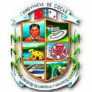 Coclé Province - Image: Escudo de la Provincia de Coclé