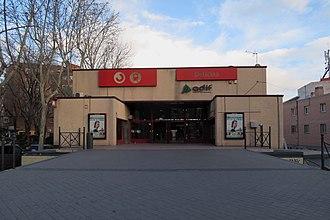 Delicias railway station - Image: Estación de Delicias (Cercanías Madrid), fachada
