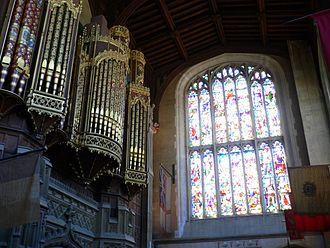 Eton College Chapel - The organ of Eton College Chapel.