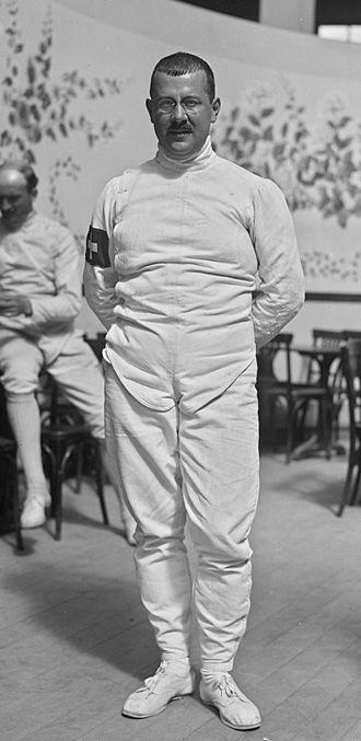Eugène Empeyta - Eugène Empeyta at the 1922 European Championships