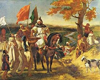 1837 painting by Eugène Delacroix