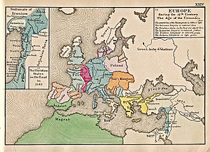 The status of Europe in 1142